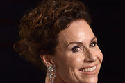 Minnie Driver Curly Updo