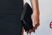 Amber Valletta Satin Clutch