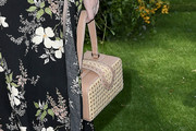 Christina Hendricks Straw Tote