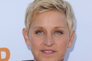 Ellen DeGeneres Layered Razor Cut