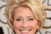 Emma Thompson Short Wavy Cut