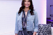 Emmy Rossum Denim Jacket
