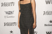Constance Wu Embroidered Dress