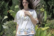 Lana Del Rey Embellished Top
