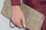 Eva Amurri Leather Clutch