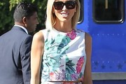 Giuliana Rancic Crop Top