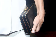 Molly Sims Box Clutch