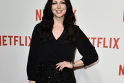 Laura Prepon Button Down Shirt