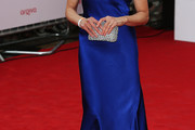 Tamsin Greig One Shoulder Dress