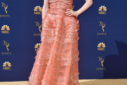 Ellie Kemper  Strapless Dress