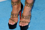 Kim Zolciak Studded Heels