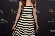 Mallory Jansen Strapless Dress