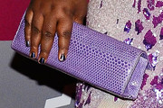 Gabourey Sidibe Leather Clutch
