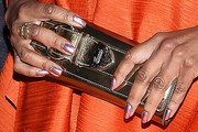 Alfre Woodard Buckled Clutch