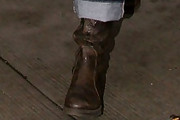 Lucy Lawless Mid-Calf Boots