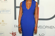 Naomi Campbell Form-Fitting Dress