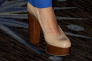 Glenn Close Platform Pumps
