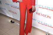 Idina Menzel Wide Leg Pants