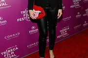 Meredith Ostrom Leather Pants