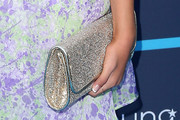 Grace Kaufman Metallic Clutch