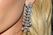 Hailey Bieber Diamond Chandelier Earrings