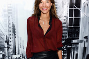 Kelsey Chow Print Blouse