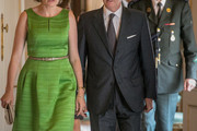 Queen Mathilde of Belgium Cocktail Dress