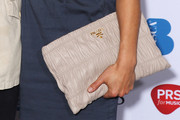 Natasha Shishmanian Leather Clutch
