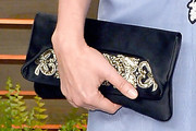 Helena Christensen Satin Clutch