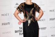 Myanna Buring Beaded Dress
