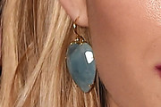 Emma Roberts Dangling Gemstone Earrings