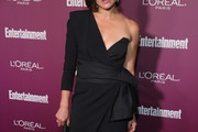 Lana Parrilla One Shoulder Dress