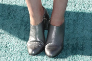 Carly Steel Ankle Boots