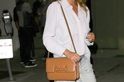 Chrissy Teigen Leather Shoulder Bag