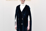 Erin O'Connor Fur Coat