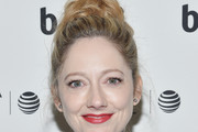 Judy Greer Braided Bun