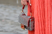 Kiernan Shipka Beaded Purse