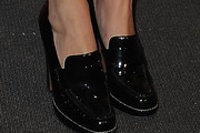 Zoe Felix Leather Slip On Shoes