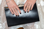Dylan Penn Leather Clutch