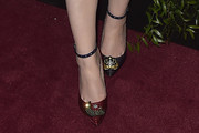 Michelle Trachtenberg Evening Pumps