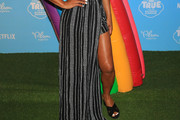 Christina Milian Long Skirt