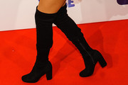 Jade Thirlwall Over the Knee Boots