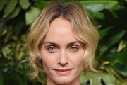 Amber Valletta Loose Ponytail
