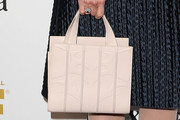 Blythe Danner Leather Tote