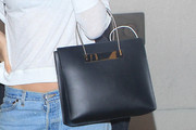 Behati Prinsloo Leather Tote
