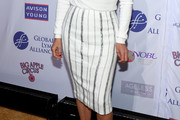 Yolanda Hadid Pencil Skirt