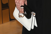 Dakota Johnson Leather Clutch