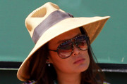 Tia Carrere Straw Hat