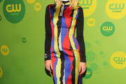 Jaime King Print Dress
