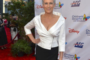 Jamie Lee Curtis Fitted Blouse